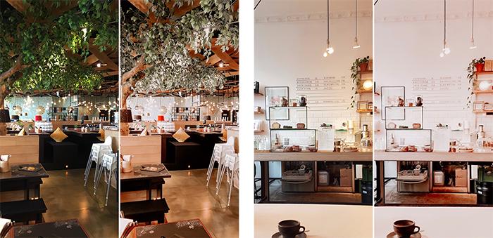 Vorher und Nachher Bilder mit Adobe Lightroom, mit Lightroom sind die Farben viel schöner und ausbalanciert